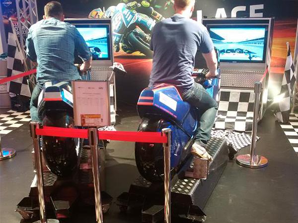 motorrad simulator mieten muenchen