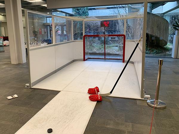 Eishockey Simulator mieten muenchen