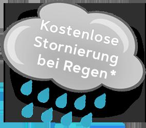 regen stornierung