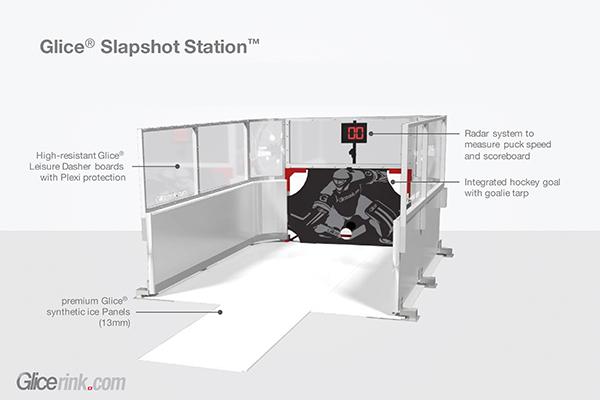 Slapshot Station / Eishockey Simulator mieten